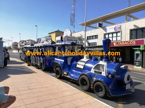 Gran Alacant Tourist Train