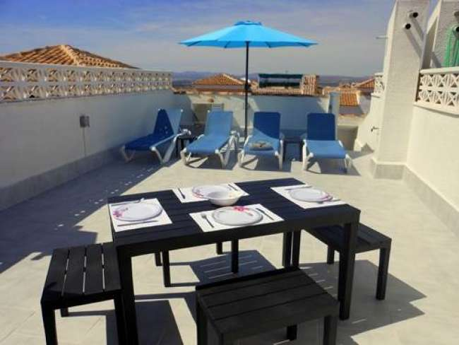2 bedroom fully air-conditioned apartment in Gran Alacant with WiFi